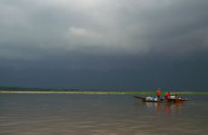 Fishermen before the storm