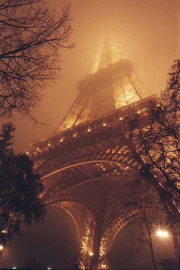 Tour Eiffel de nuit - Copyright (C) Yves Roumazeilles