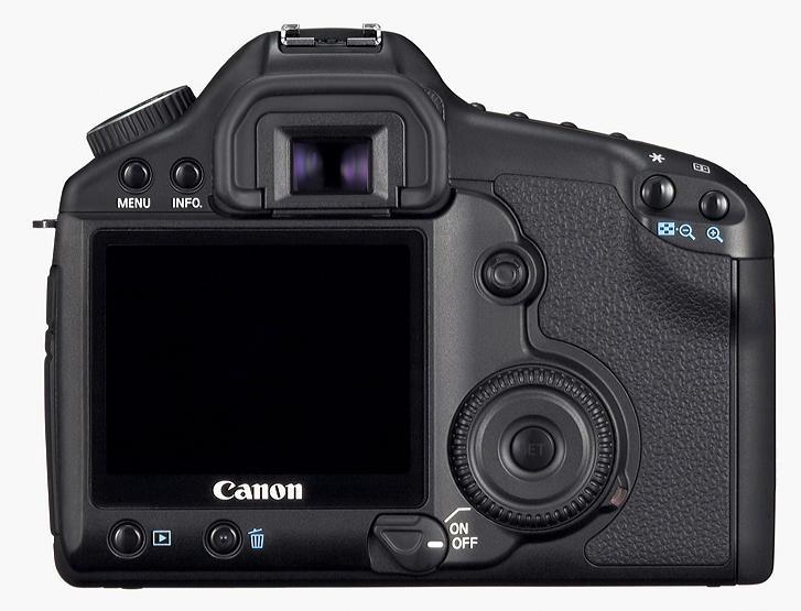 Canon EOS 5D Mk II - back