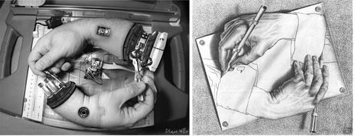 Homage to MC Escher - By Shane Willis