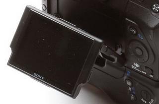 Sony Alpha 300 - LCD display