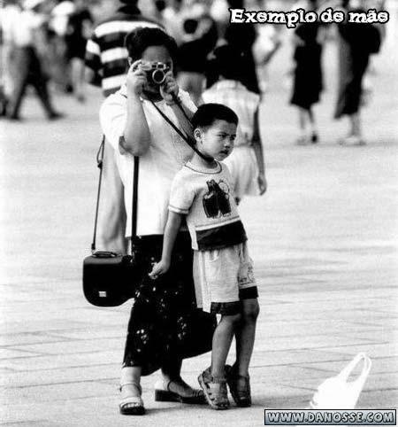 Exemplo de mãe cuidadosa