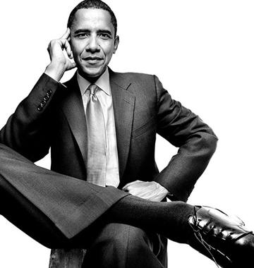 Barack Obama - Copyright (c) Platon