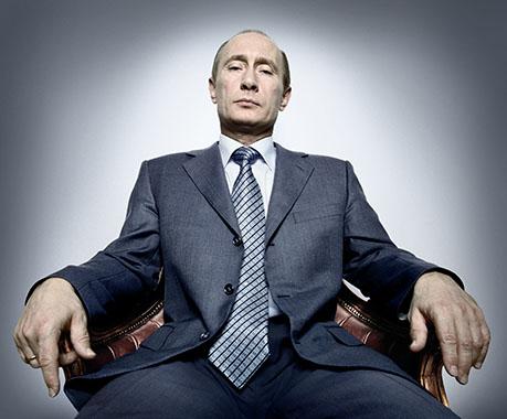 Vladimir Poutine - Copyright (c) Platon