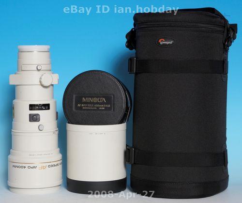Minolta APO G 400mm f/4.5