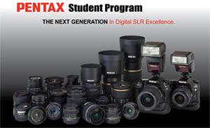 Pentax student program