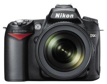 Nikon D90 (front)