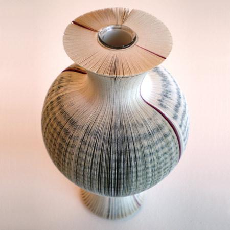 Book vase (Laura Cahill)