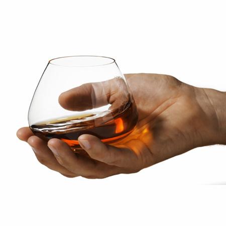 A Cognac glass (Rikke Hagen)