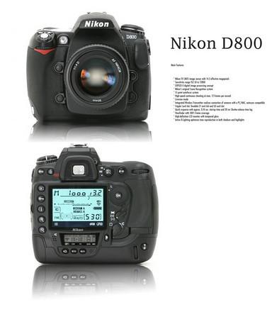 Nikon D800?
