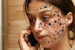 Don't sleep at the tatoo parlour