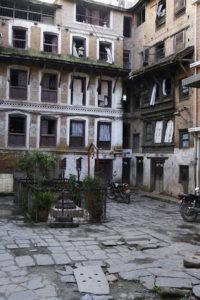 _DSC3585w - Cour de Katmandou