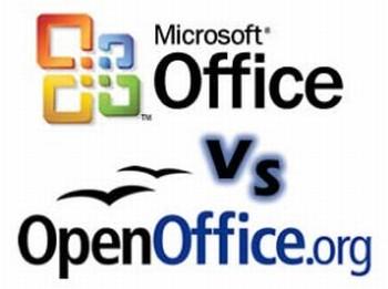 microsoftoffice vs openoffice
