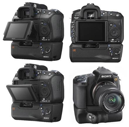 Sony Alpha 300, Sony Alpha 350 – mid-range cameras