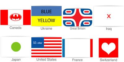 National flag design critique