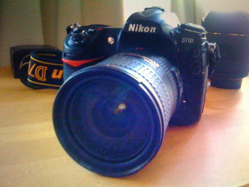 A photo of the Nikon D700
