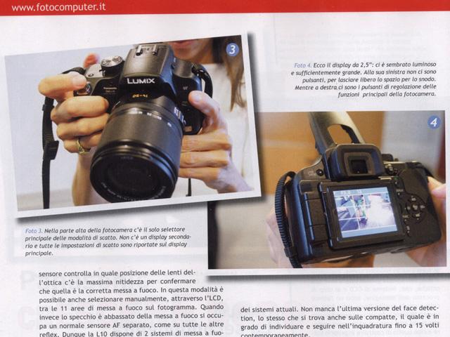 Panasonic L10: first shots