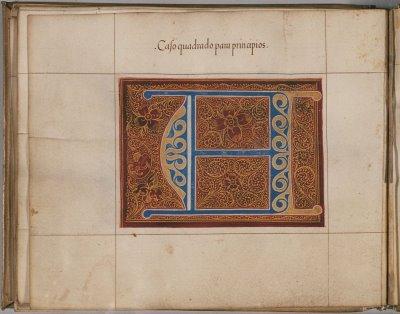 Manuscript decoration
