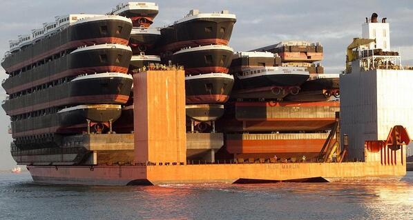 ships on ships on ship