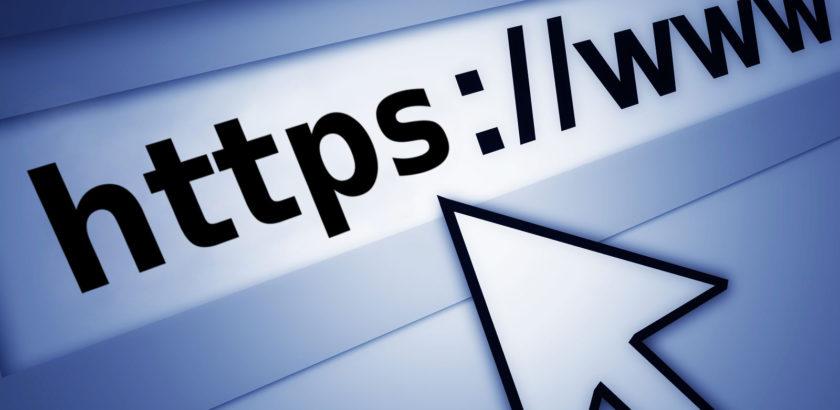 HTTPS (SSL) address bar