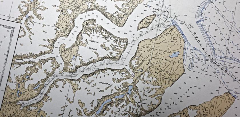 Gibbs Fjord (chart)