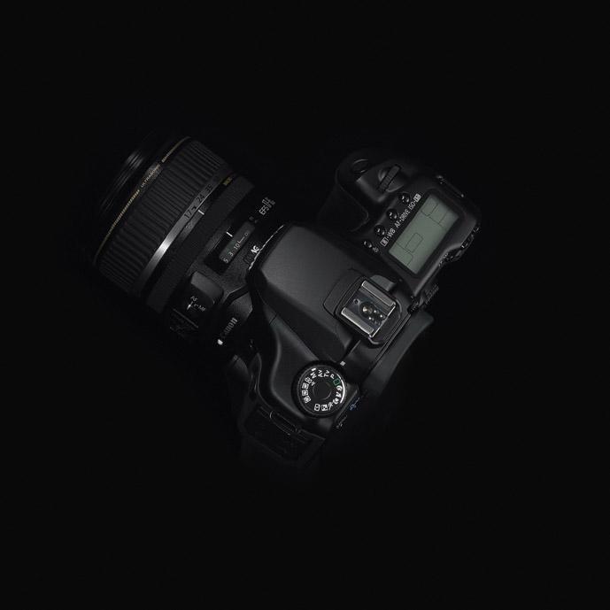 Canon EOS 40D - top
