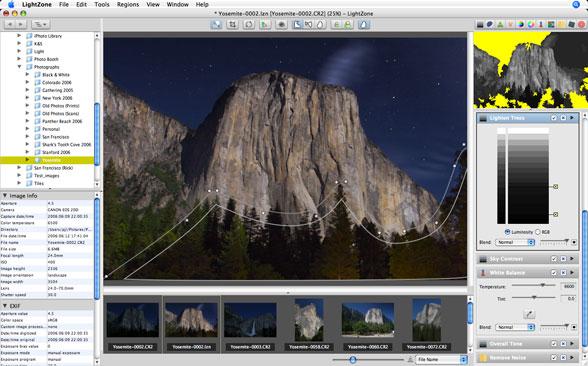 LightZone - example screenshot