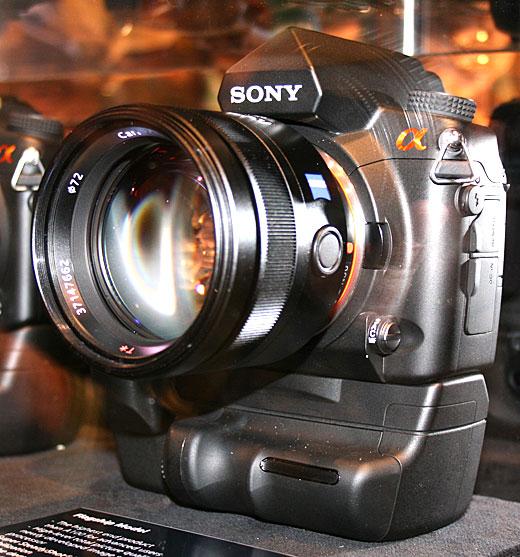 Nouveau Sony Alpha à la PMA