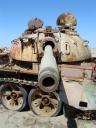 Rusting tank in Iraq