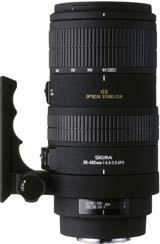 Sigma 80-400mm f/4.5-5.6 EX DG OS