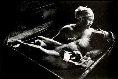 Tomoko Uemura in Her Bath (W. Eugène Smith) 1972