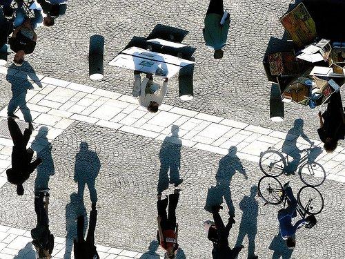 Optical illusion - Shadows