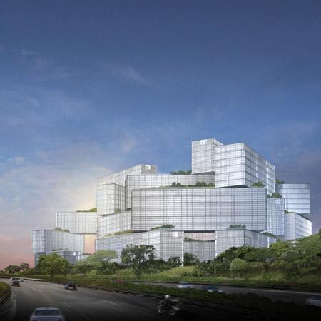 Complexe résidentiel à Singapour