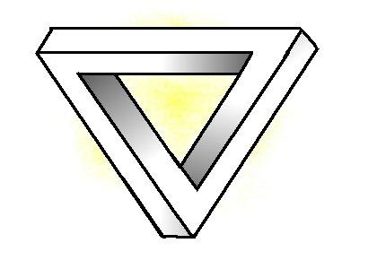 Comment dessiner une illusion d'optique triangulaire