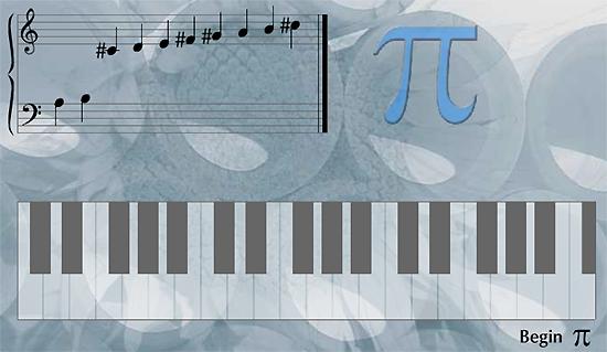 PI musical score