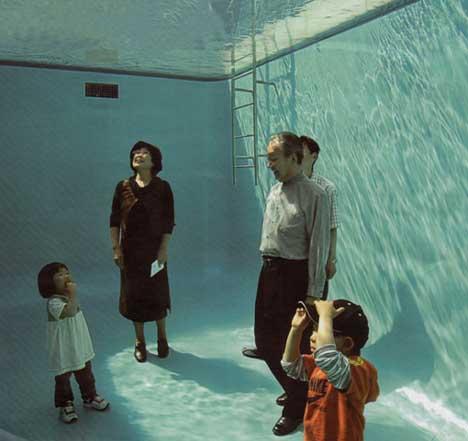 Piscine inverse - Inverse pool