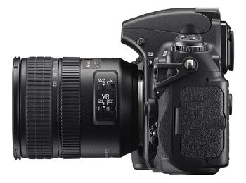 Nikon D700 - side view