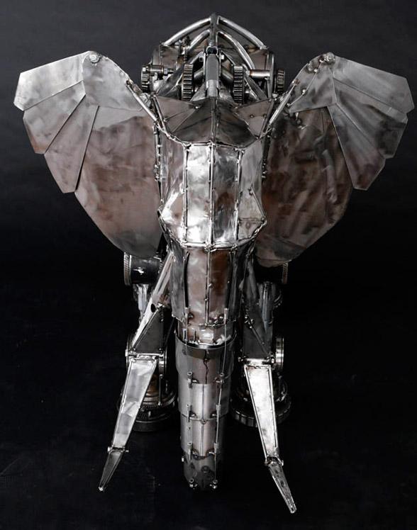 Eléphant mécanique