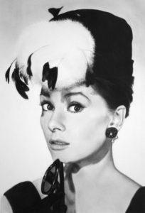 Audrey Hepburn (dessin de Matthew Leader)