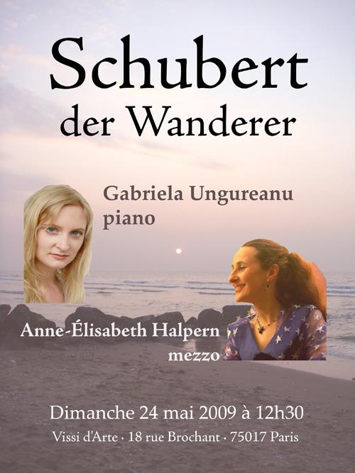 Gabriela Ungureanu / Anne-Elisabeth Halpern - Schubert
