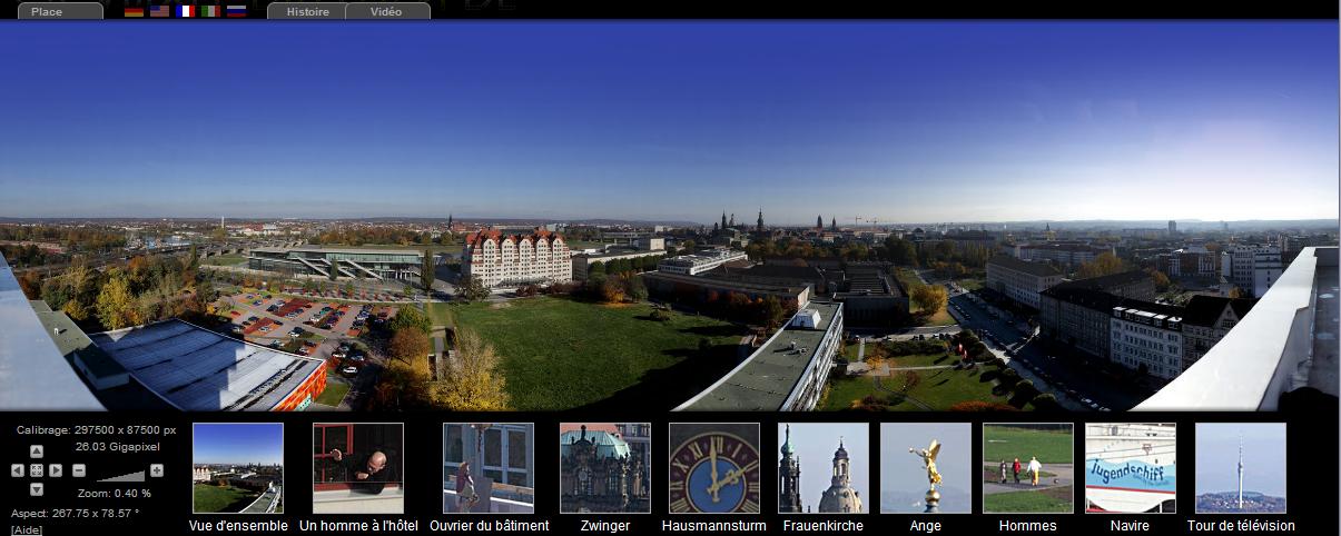 Plus de pixels encore : Dresde