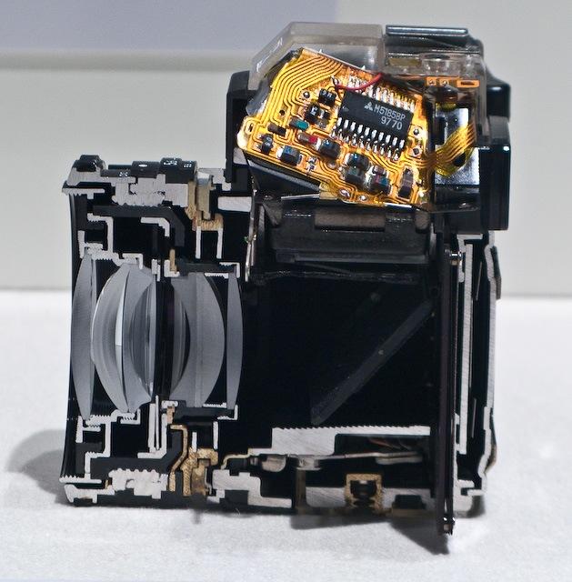 Le DTB coupe les appareils photo en deux