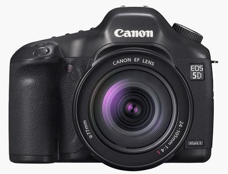 Images volées du Canon EOS 5D Mk II