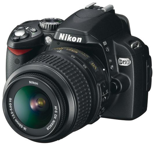 Nikon D60, tout petit, tout léger, très bon marché