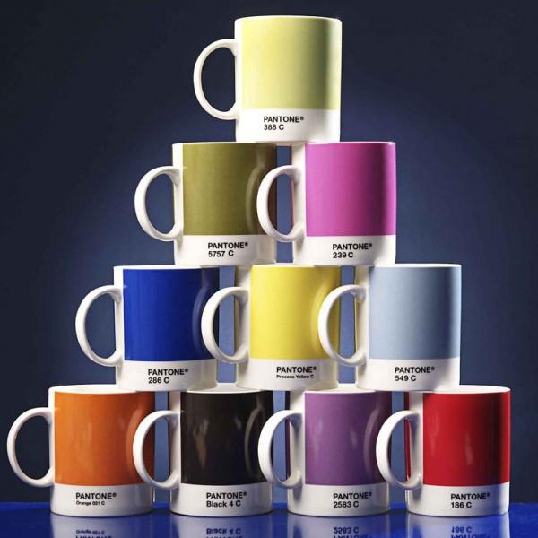 Tasses à café Pantone