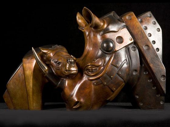 Sculptures bio-mécaniques