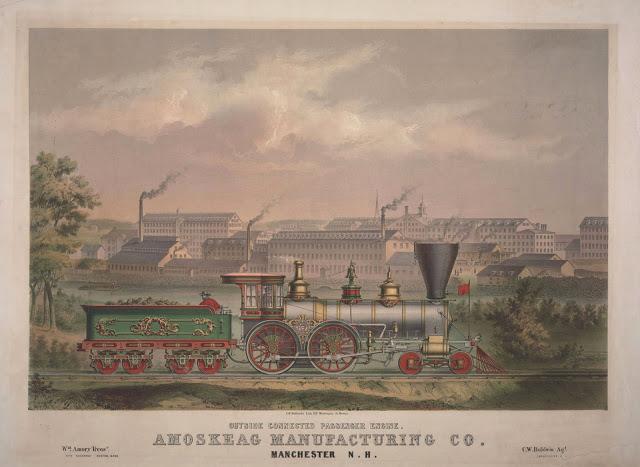 Vieilles locomotives à vapeur