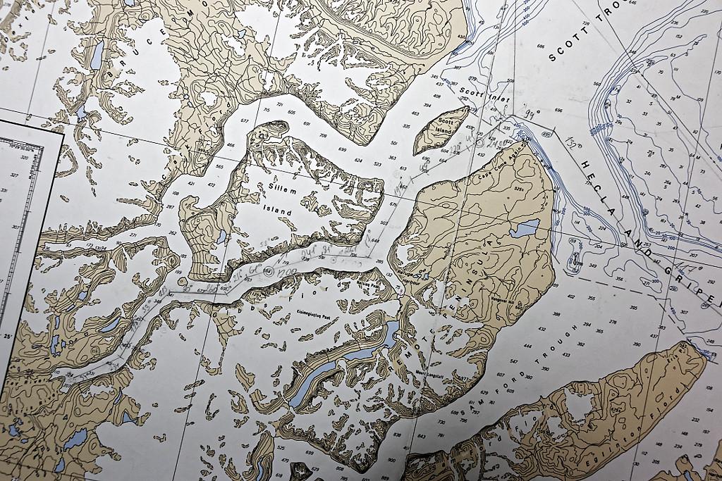 Gibbs Fjord (carte)