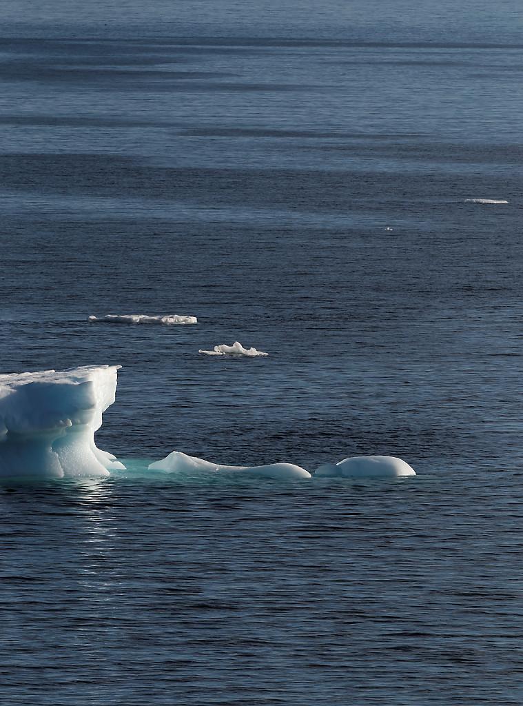 Collection de glaçons (icebergs)