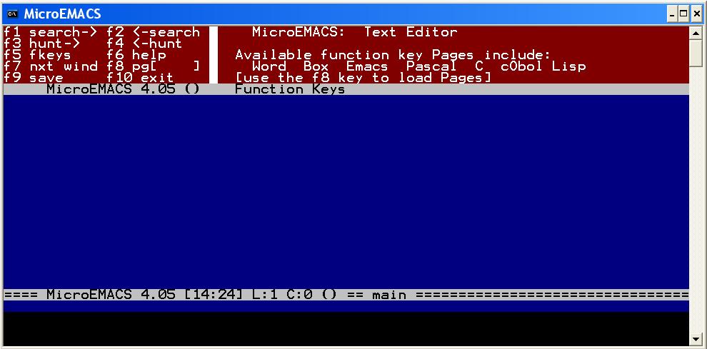 Ma participation à l'histoire d'Emacs